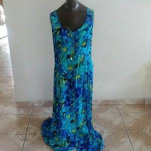 Scarlett blue maxi dress